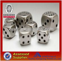Wholesale New Custom Precision Metal 6 Sided Round Bulk dice
