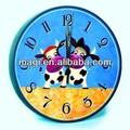 populaire bande dessinée photo horloge murale décorative de vache