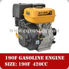 Wholesale Price,190F 420cc OHV kick start 16HP single cylinder petrol engine