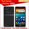 Brand New Lenovo a880 Mobile Phone Quad Core Android 4.2 6 inch IPS Screen lenovo shenzhen mobile