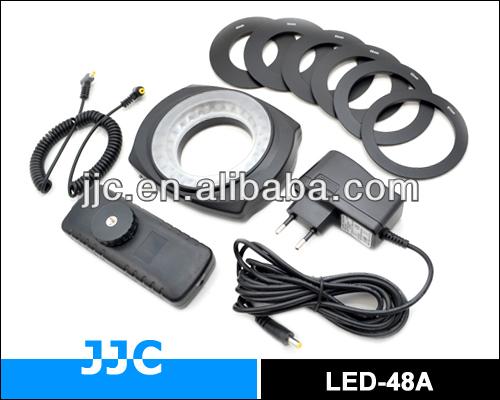 JJC LED-48A/LED-48B 48pcs LED Macro Ring Flash Light