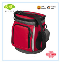 420D/PVC foldable Insulated Wine Cooler Bag For Picnic