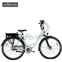"""MOTORLIFE/OEM brand 2014 EN15194 Best selling 36v 250w 28"""" electric city bicycle"""