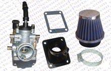 Performance 19MM Dellorto style Carb Intake Air filter Kit 47CC 49CC Mini Moto ATV Quad Dirt Pit Pocket Bike Carburetor Parts