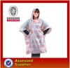 Promotional High Quality Printing Logo Disposable Raincoat Plastic Rain Poncho