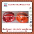 steel rim for wheelbarrow wheelbarrow tyre rim