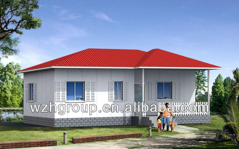 Kenya Konut Ev Home 76 Metrekare Prefabrik Evler R N
