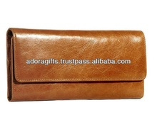 ADALW - 0166 leather materials for women wallets / new fashion ladies party purse / pu leather ladies purse