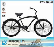 "2015 26"" single speed classic beach cruiser bike with coaster brake(PW1-B26112)"
