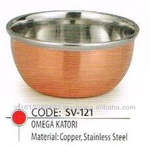 Copper Omega Katori