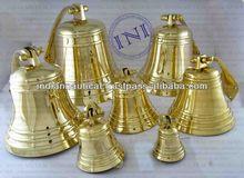 Brass Beautiful Ship Bell's Group, Nautical Antique Brass Ship Bell, Smart Marine Ship Bell
