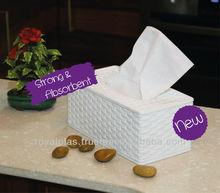 Beach Rattan Tissues Box