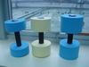 EVA foam swimming dumbbells/ pool dumbbells/ aqua barbell