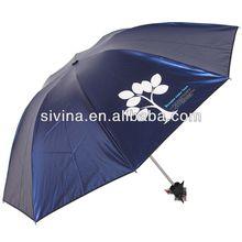 2014 high quality 8K Color Changing Umbrella rain and sun umbrella