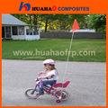 Bici bandiera in fibra di vetro, ad alta resistenza flexiblefiberglass bici bandiera produttore professionale