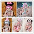 de confecção de malhas do chapéu do bebê do crochet chapéus de algodão de boa qualidade animal beanie chapéus