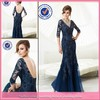 wg1223 Sexy navy blue mother of the bride lace dresses with sleeves free photos