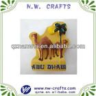 Custom souvenir camel 3d resin fridge magnet