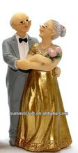 Lot of 12 of Bride & Groom Figurine Bridal Shower Party Favors , Prize