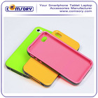 For iPhone 4 4S TPU candy soft Case Cover with bumper