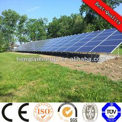 Solar PV system,solar system 5kw /panel solar home system 5kw.(solar panle+grid tie inverter+mounting)