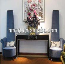 Latest Design Hotel Luxury Lobby Furniture