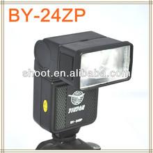 Digital SLR camera flash BY-24ZP for Canon Nikon Pentax Olympus Panasonic Fujifilm