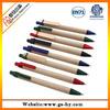 2014 Cheap advertisement recycle paper ballpiont pen