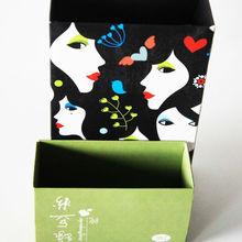 Hot Saling Fashional Beautiful Pattern Paper Gift/Storage Packaging Box