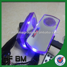 2014 New Fashion Motorbike Side View Mirror ,MP3 Loudspeaker ,Alarm ,Clock, Lights Mirror