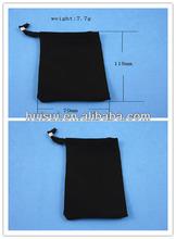 High quality custom velvet drawstring pouch bag