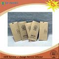 De alta calidad bolsa de té de/la humedad de papel de aluminio bolsa de papel rayado para té