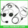 Half face helmet push to talk microphone headphone for Baofeng handheld ham radio UV5RC UV5RD UV-5RE UV-5RG UV-5RQ UV-5RT UV-5S