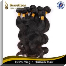 Most popoular virgin brazilian 5a super line hair weave