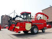 Self-propelled corn silage harvester machine