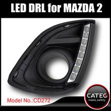LED daytime running lights/ LED driving light/ LED DRL for Mazda 2 Sedan Sports V R RZ Direct Energy Sport MZR MZ 2012 2013 2014