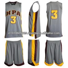 100% Polyest High Quality Basketball Uniform