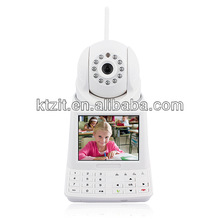 Built In 3C Smart Card Free Video Call P2P IP Camera Network Phone Camera