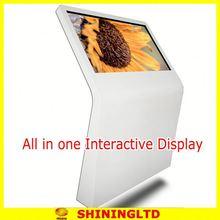 high efficiency 42 inch full hd ir multi touch screen kiosk