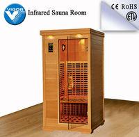 Dry infrared sauna rooms,cheap sauna room,corner sauna room