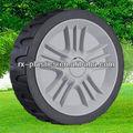 ruedas de plástico