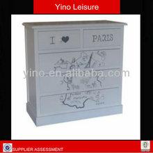 2014 Fashion Design wooden drawer cabinet children bedroom furniture cabinets Vintage Design Wooden Chest of Drawers FT0085