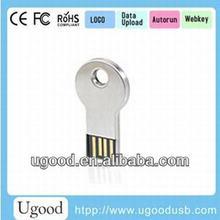Made In China Metal Key Shape Marketing 16GB Mini Usb Flash Drive