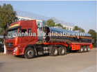 39000 Litres 3-Axles Stainless Steel Diesel Transport Tanks Vehicle For Sale