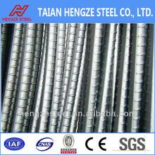 HRB400 high quality deformed steel rebar for export