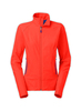 Red winter waterproof bonded softshell jacket