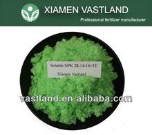 NPK 28-14-14 foliar compound npk fertilizer