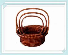 apple shape bamboo fruit baskets