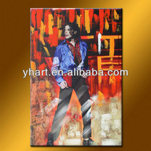 Hot Sell Famous Human Abstract Paintings Of Michael Jackson