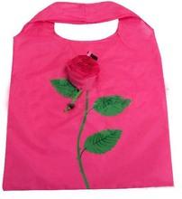 Rose foldable shopping bag